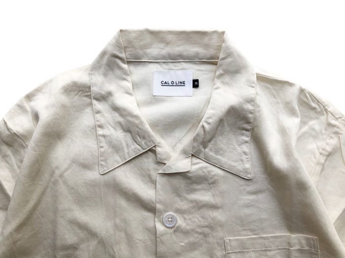 OPEN COLLER S/S SHIRTS