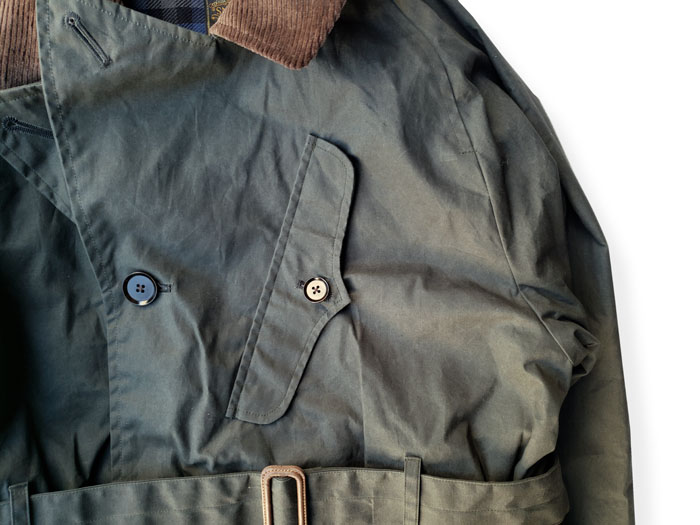 WAX ED M/C WEATHER COAT