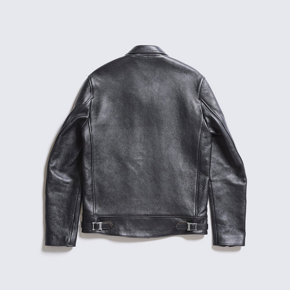 AD-01 SHEEPSKIN CENTER-ZIP JACKET