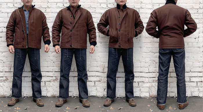 "MFSC ""SURPLUS"" BROWN JUNGLE CLOTH N-1H"