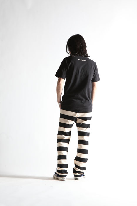 BORDER LONG PANTS