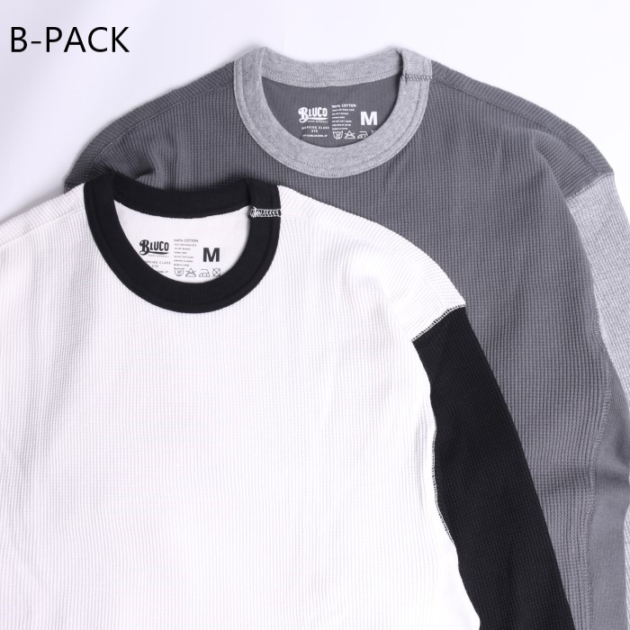 2PAC THERMAL SHIRTS -set in-