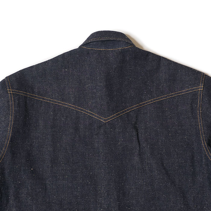 Lot 3001 LONG HORN TYPE DENIM WESTERN SHIRTS
