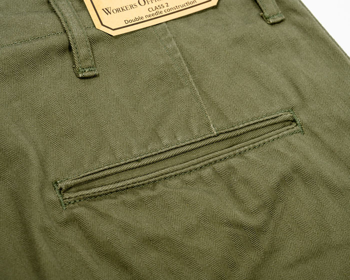 OFFICER TROUSERS VINTAGE Type2