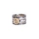 EFRG-0032 18K POINT STAMP RING