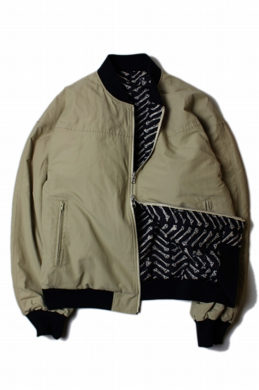 RUTHLESS-13B Derby Jacket〔Sand〕