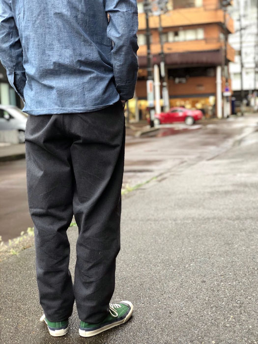 MOONGROW TROUSERS BRUSHED COTTON SARGE