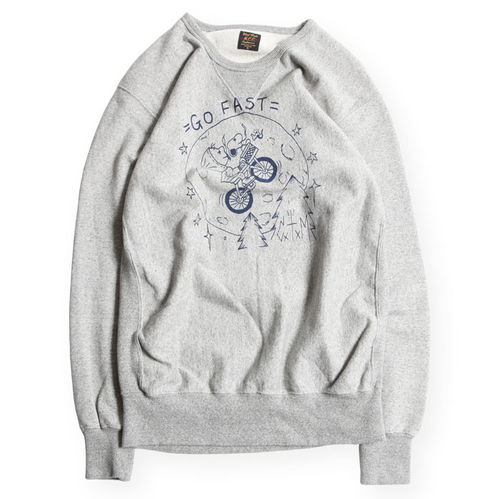 CLOUD LONG SLEEVE FRONT V CREW NECK
