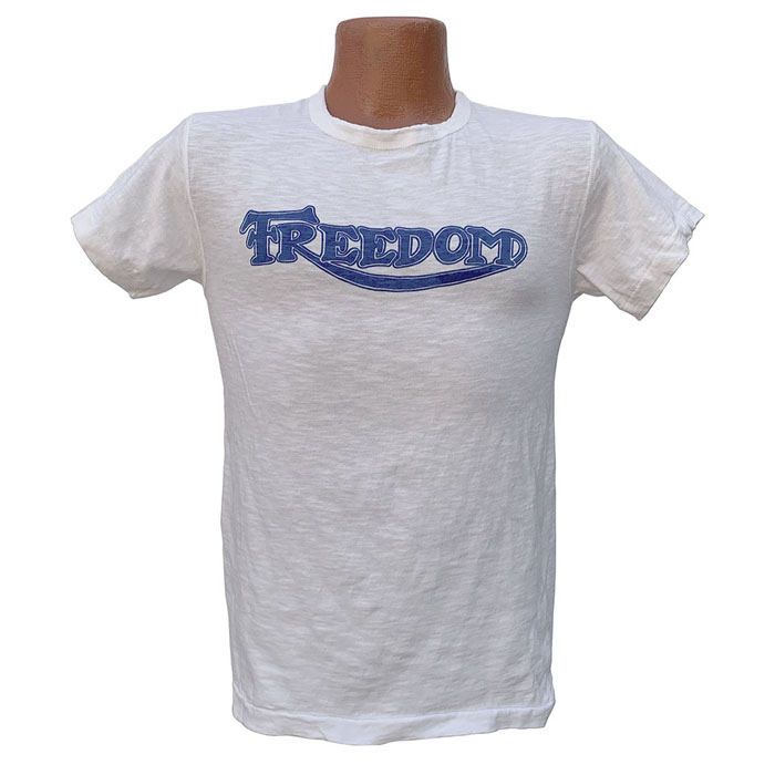 "MFSC MADE IN USA COTTON JERSEY MF SHOP TEE""FREEDOM"""