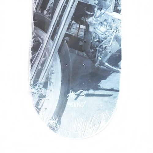 A. OUTLAW POSTER LIMITED SKATE DECK MONKEY