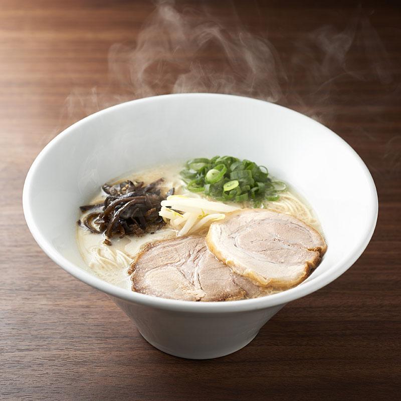 博多・絹ごしとんこつラーメン白丸・赤丸(2人前)【乾麺タイプ】