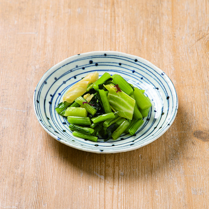 野沢菜ふぶきわさび風味250g