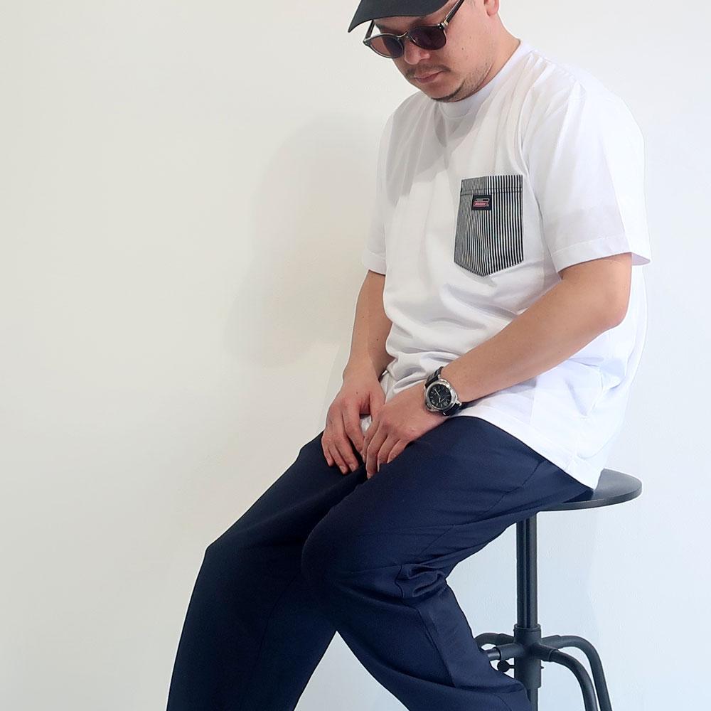 Dickies ディッキーズ 胸ポケット半袖Tシャツ