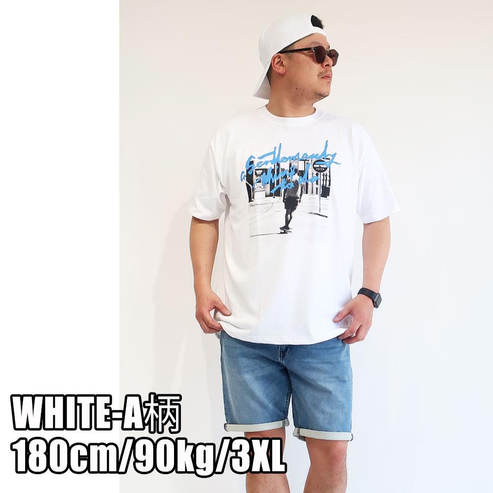 6柄から選べる 丈夫な素材のプリント半袖Tシャツ