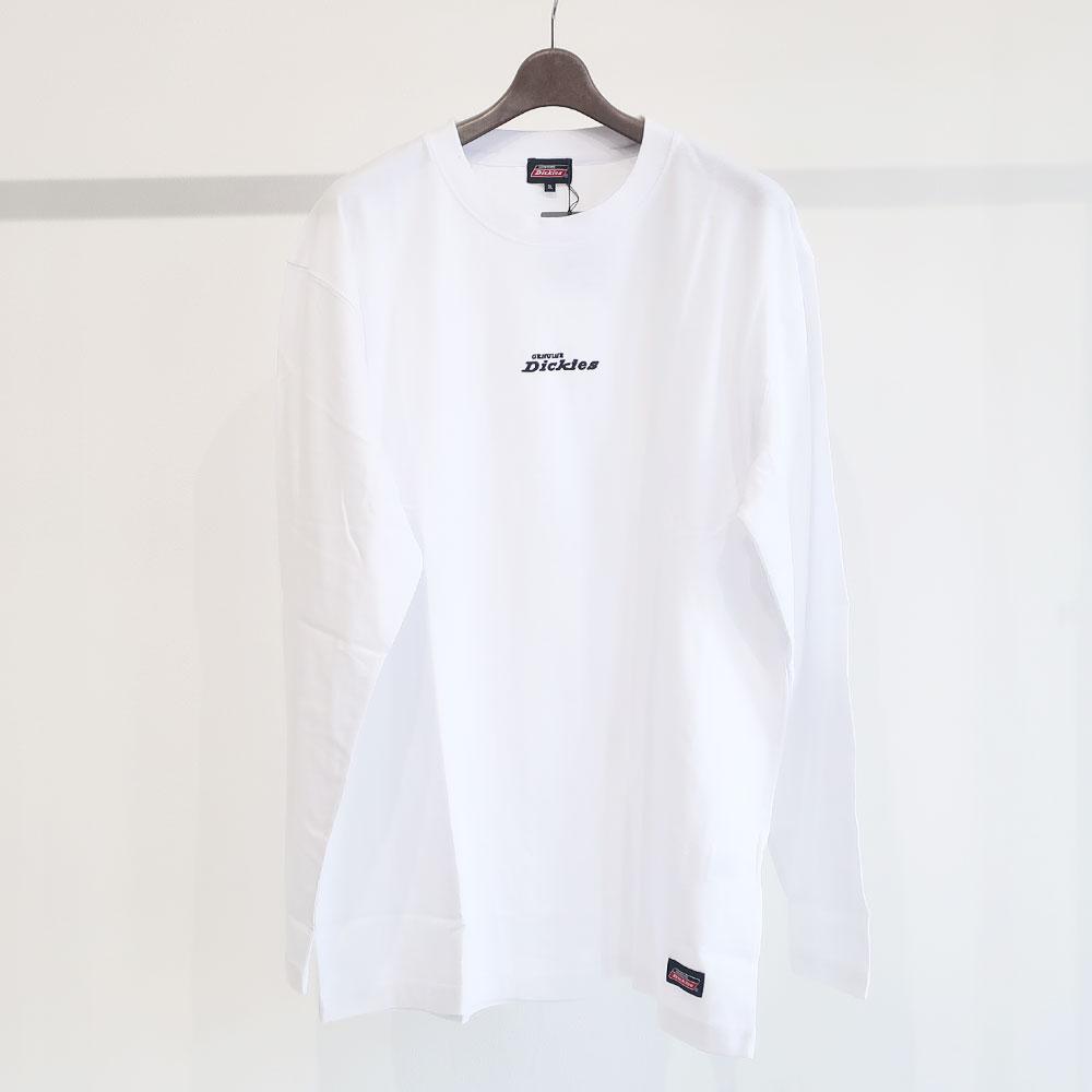 Dickies ワンポイント刺しゅう長袖Tシャツ