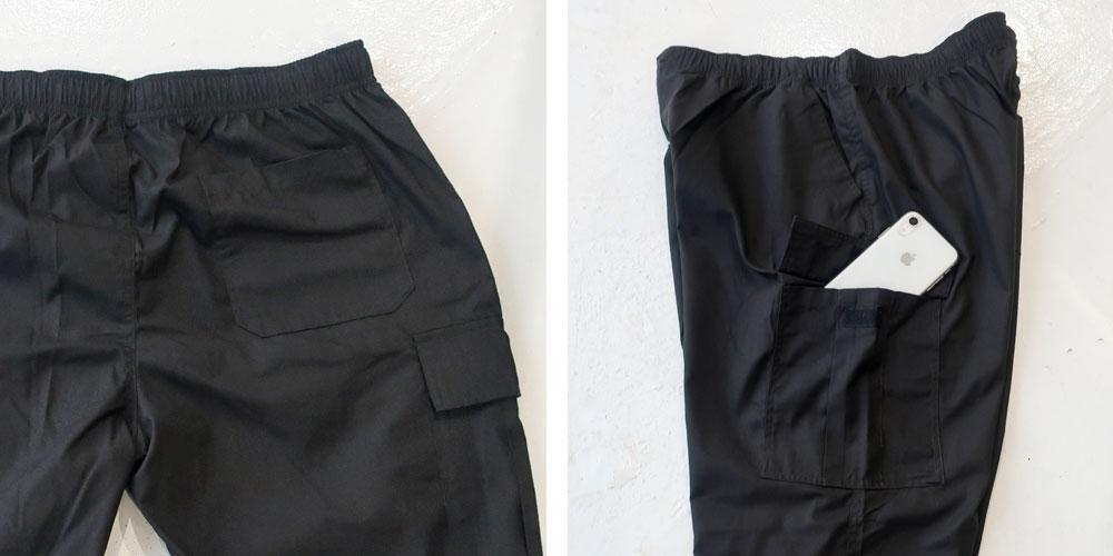 [応援プライス]年間定番で履けるゆったりカーゴパンツ