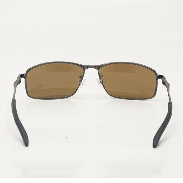老眼鏡付き偏光サングラス 偏光グラス UVカット セミソフトケース付き