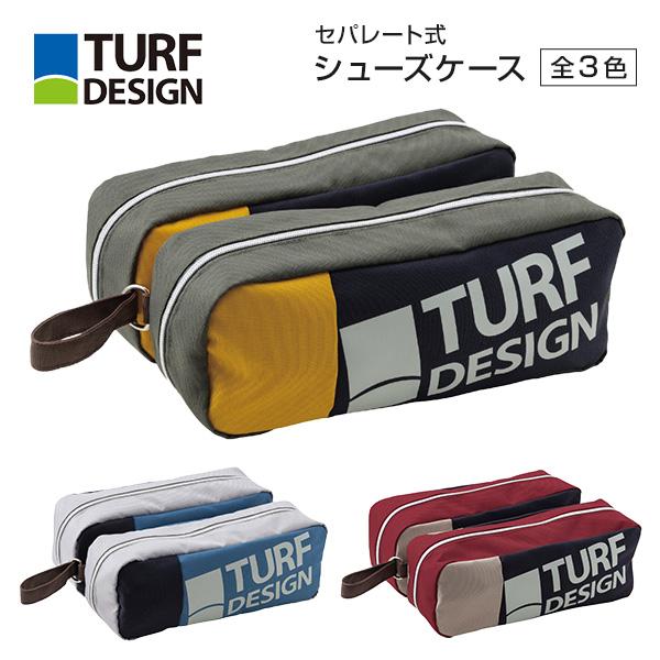 【メーカー取り寄せ】シューズケース / ターフデザイン TDSC-2072 朝日ゴルフ