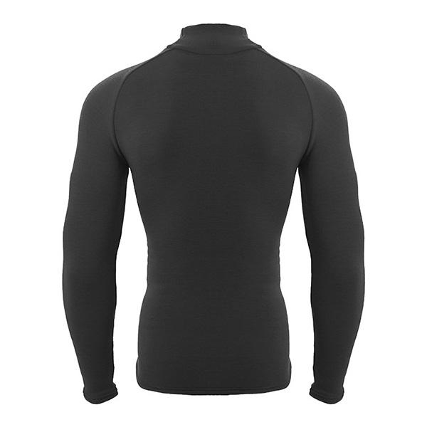 ゼロフィット ヒートラブ ロングスリーブ モックネック イオンスポーツ HEATRUB 男女兼用 速暖 長袖