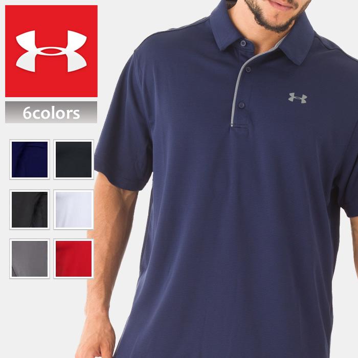 UNDER ARMOUR アンダーアーマー スポーツ ポロシャツ メンズ 半袖