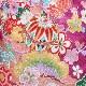 格安!着物・七五三レンタル 7歳女児 紫 松竹梅 【送料往復880円】2004-39