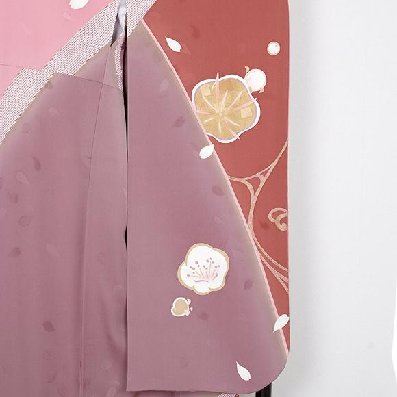 格安!振袖レンタル(2〜11月) 卒業式 結婚式 赤 ピンク ナカノヒロミチ【送料無料】【試着可能】51004