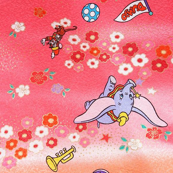 着物 七五三 レンタル フルセット 七五三衣裳 女児 3才 被布 DNY ダンボピンク 【送料往復880円】HI0009