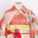格安!振袖レンタル 成人式 ピンク 桜 飛び鶴【送料無料】【試着可能】51028