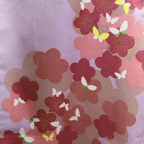 格安!袴レンタル 成人式 卒業式 卒業袴 (セツト) すみれ色1.8・ワイン紫刺繍2.4 【送料無料】 sg34