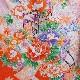 格安!着物・七五三レンタル 3歳女児 朱 花車 【送料往復880円】2003-02