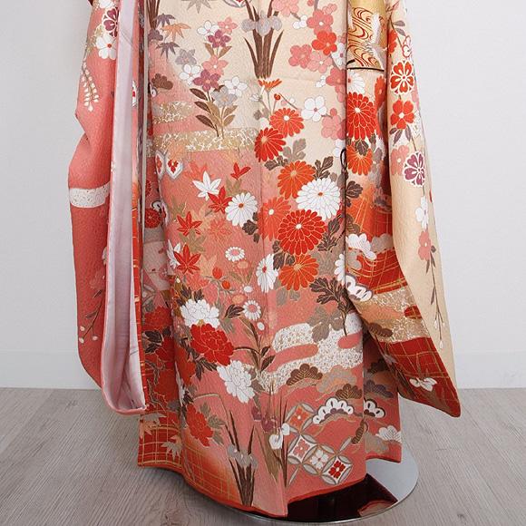 格安!振袖レンタル 成人式 ピンク 小菊【送料無料】【試着可能】51048