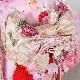 格安!着物・七五三レンタル 7歳女児 ピンク 重ね 【送料往復880円】2004-37