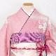 格安!振袖レンタル(2〜11月) 卒業式 結婚式 淡いピンクに桜 【送料無料】【試着可能】 51089