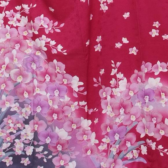 格安!振袖レンタル 成人式 紫胡蝶蘭 【送料無料】【試着可能】51136