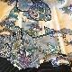 格安!着物・お宮参り レンタル フルセット 初着 男児 K 絽 黒にタカ 【送料往復880円】100008