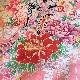 格安!着物・お宮参り レンタル フルセット 初着 女児 C 御所車と花 【送料往復880円】200003
