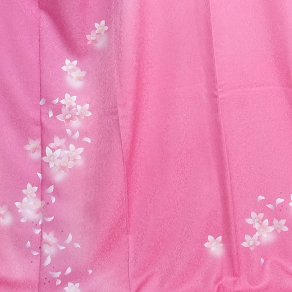 格安!振袖レンタル 成人式 ピンクに華 【送料無料】【試着可能】51098