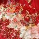 格安!着物・お宮参り レンタル フルセット 初着 女児 J 赤蝶【送料往復880円】200010