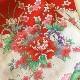 格安!着物・お宮参り レンタル フルセット 初着 女児 絽 赤オシドリ【送料往復880円】210001