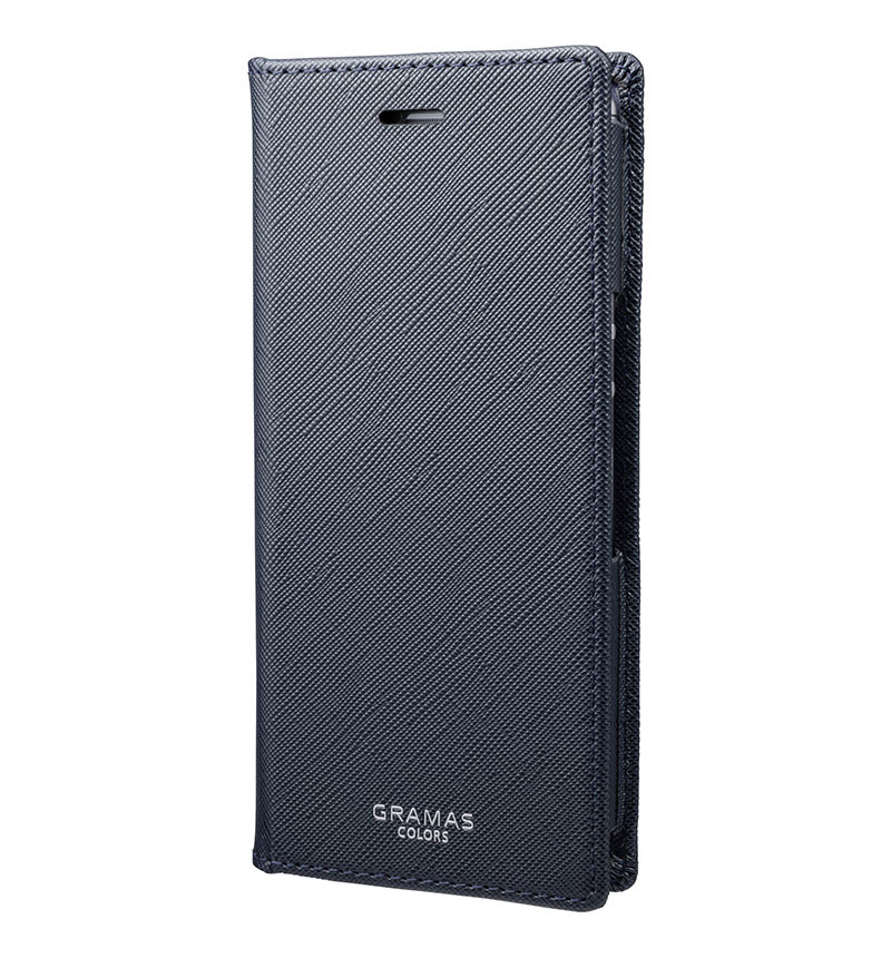EURO Passione PU Leather Book Case for Xperia Ace Navy ネイビー CLC-64819NVY