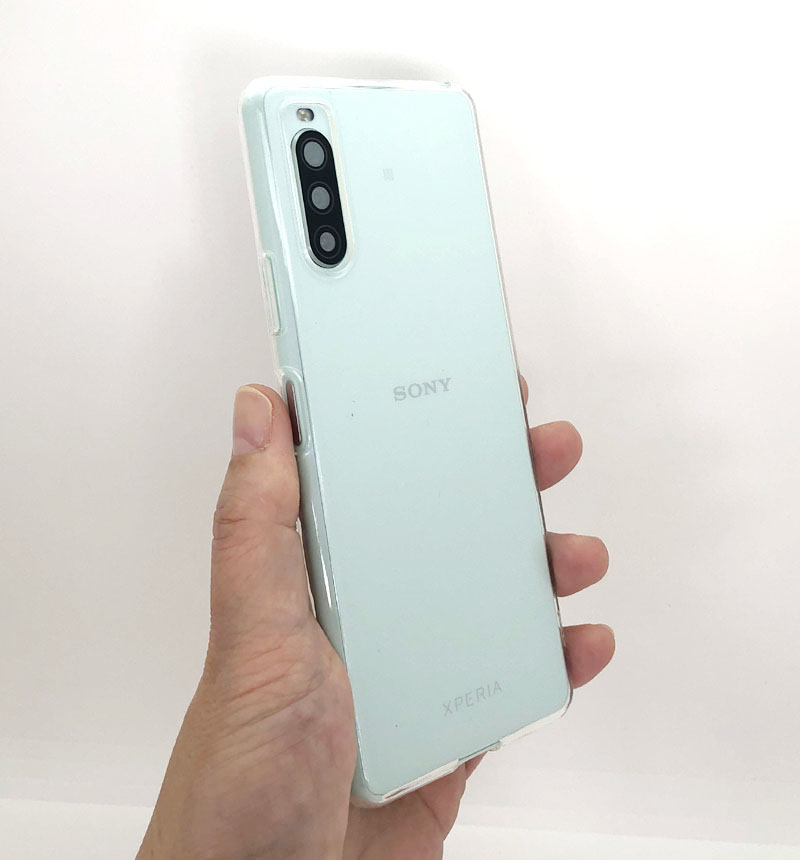 Xperia 10 II SO-41A ソフトケース「CLEAR SOFT」 クリア クリア LP-20SX2CSTCL