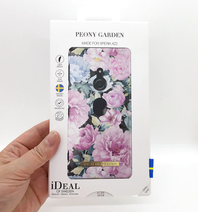 【特別価格】Fashion Case Peony Garden IDFCS18-XZ2-68