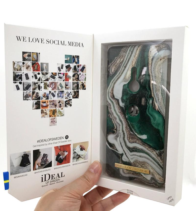 【特別価格】Fashion Case A/W18 Golden Jade Marble IDFCAW18-XZ3-98