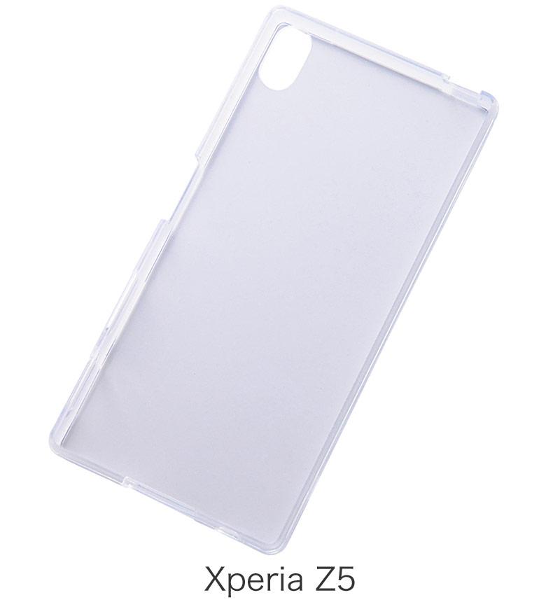 Xperia   Z5 ハイブリッドケース クリア RT-RXPH1CC2/C
