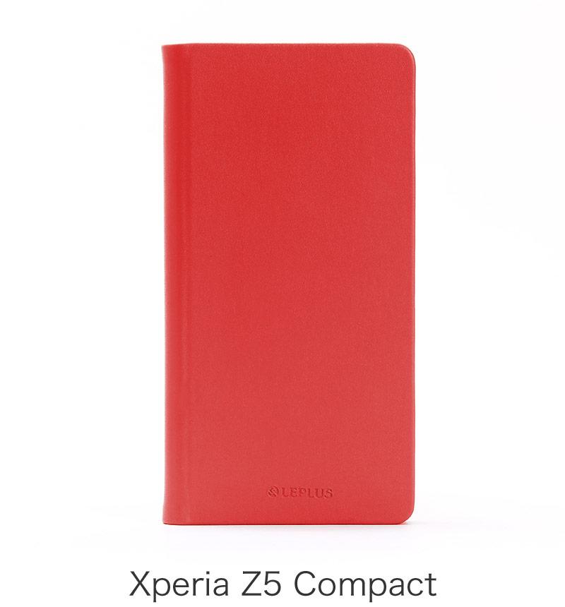 Xperia Z5 Compact 薄型撥水ケース「PRIME AQUA」 レッド LP-XPZ5CLPRRD