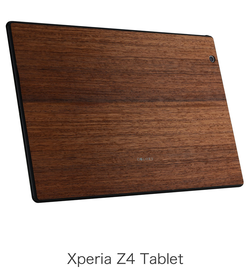 THE WOOD SKIN The Surface Collection for Xperia Z4 Tablet Japanese Quince EPA25-003KA