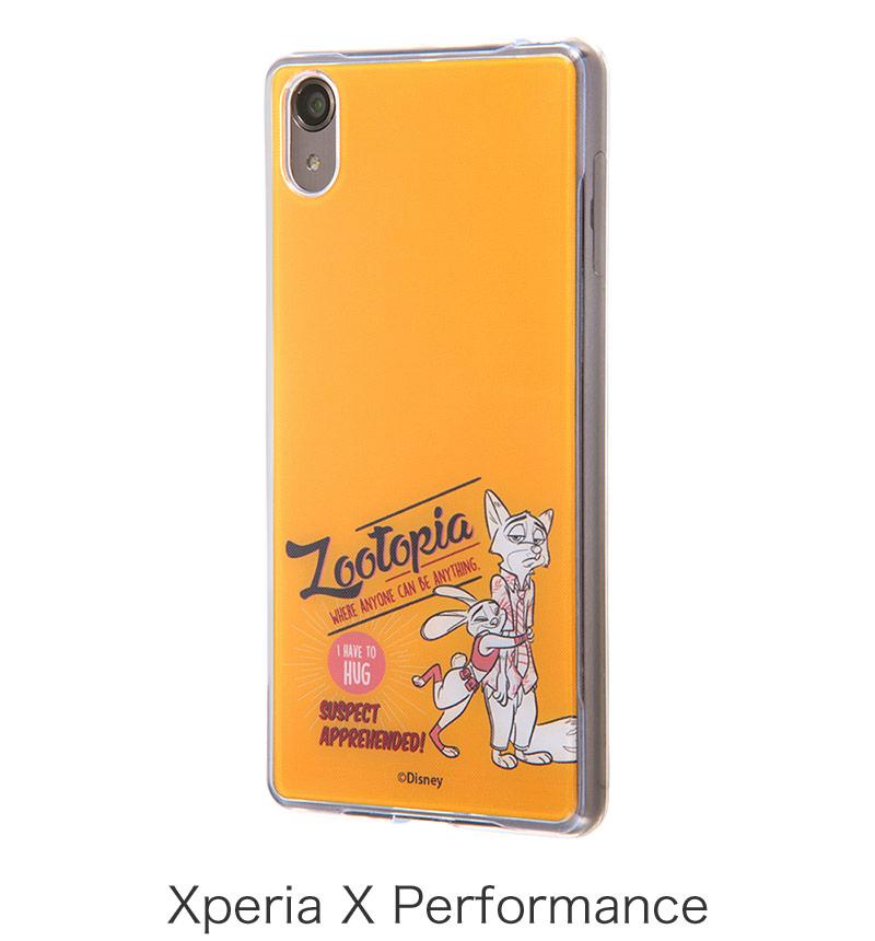 Xperia  X Performance用ズートピア TPUケース+背面パネル クラシックD IJ-RDXPXPTP/Z07