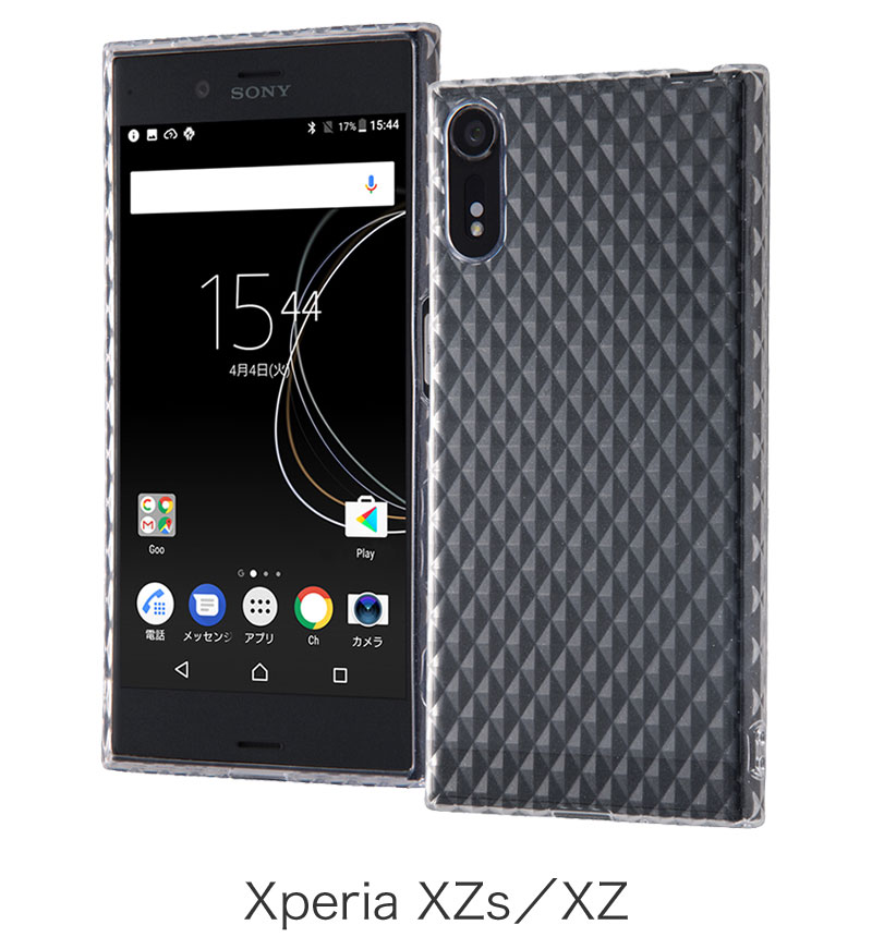 Xperia XZs TPUケース キラキラ クリア RT-RXZSC7/C