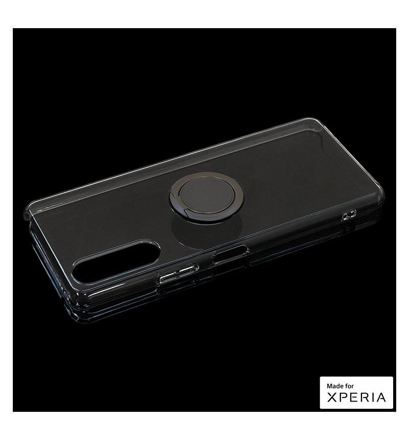 Xperia 10 II トライタンリングケース スペースグレー 5482XP102TR