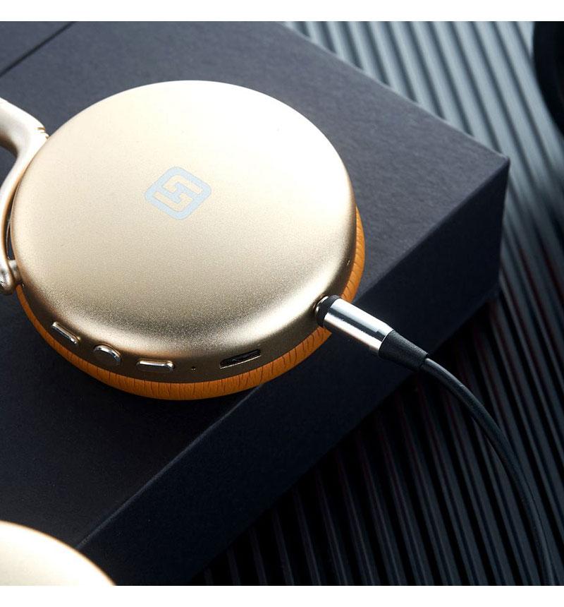 Bluetoothヘッドフォン TURBO2 ゴールド FT11789